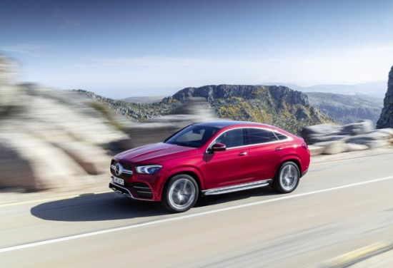 New Mercedes-Benz GLE Coupe on sale