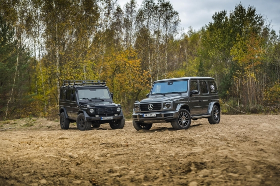 Mercedes-Benz G-Class 350d 4MATIC is a car full of contradictions