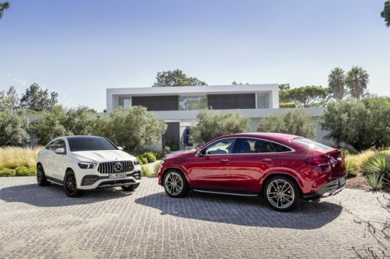 Debijas Mercedes-Benz GLE Coupe un Mercedes-AMG GLE 53 4Matic + Coupe
