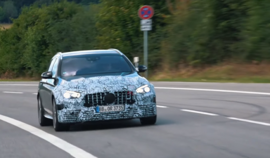 Mercedes-AMG is testing the new E 63 and E 63 S 4MATIC+