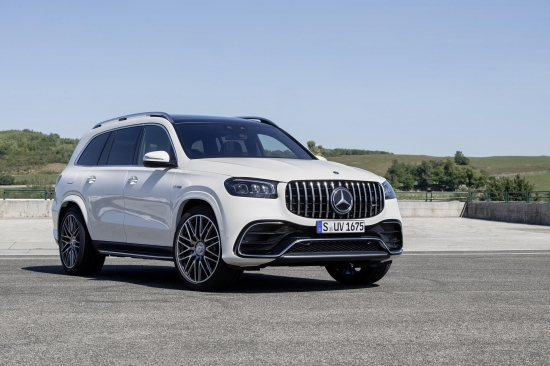 Mercedes-AMG GLS 63 4MATIC in a unique configuration for 2021