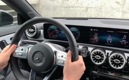 Mercedes MBUX system surprises with answers