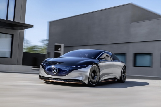 Mercedes-Benz Vision EQS: autonomy, electrification and a new dimension of luxury