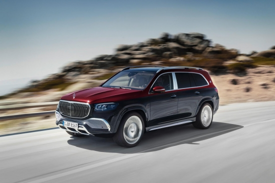 Mercedes-Maybach GLS 600. Such a luxury SUV in Mercedes has never been
