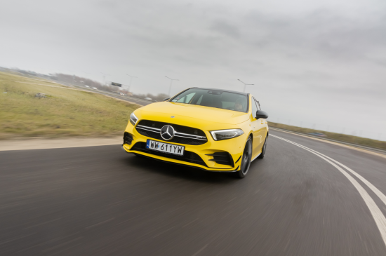 Mercedes-AMG A 35 4MATIC тест-драйв