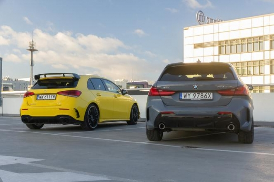 Mercedes-AMG A 35 4Matic vs. BMW 120D xDrive