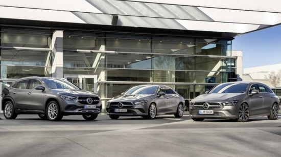 Mercedes-Benz CLA и GLA с приводом EQ Power